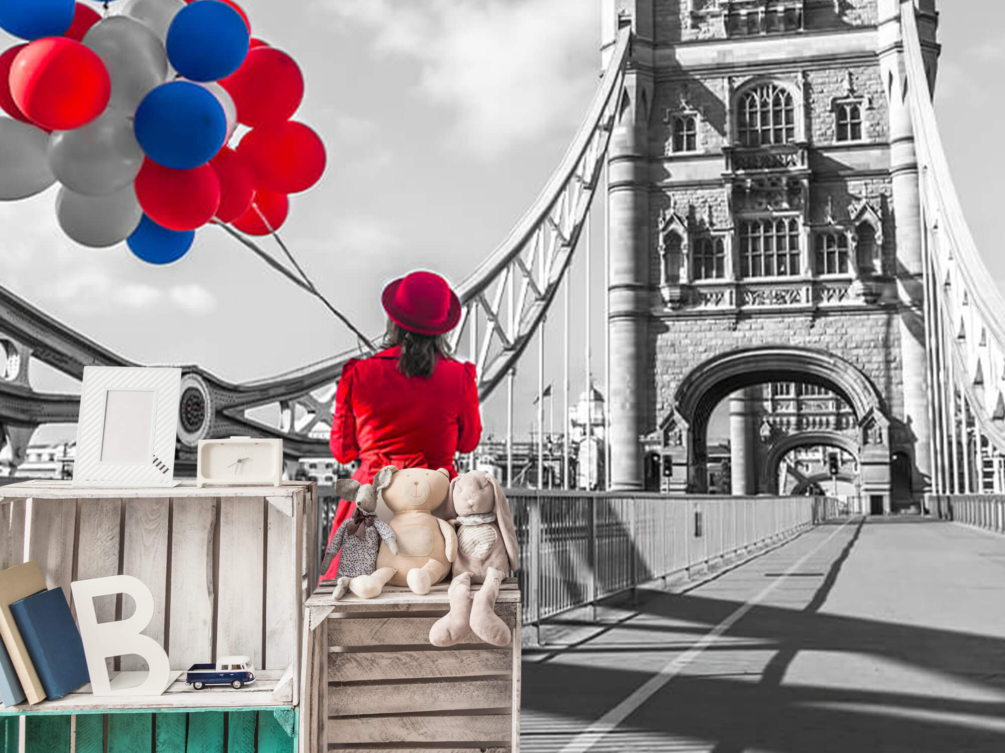 Colourful balloons 16