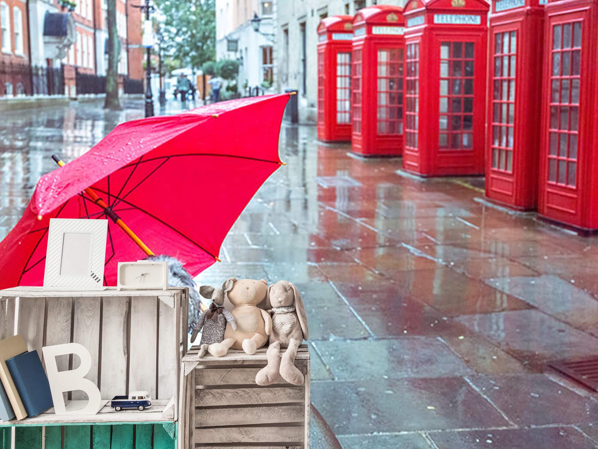 Dog with umbrella 12