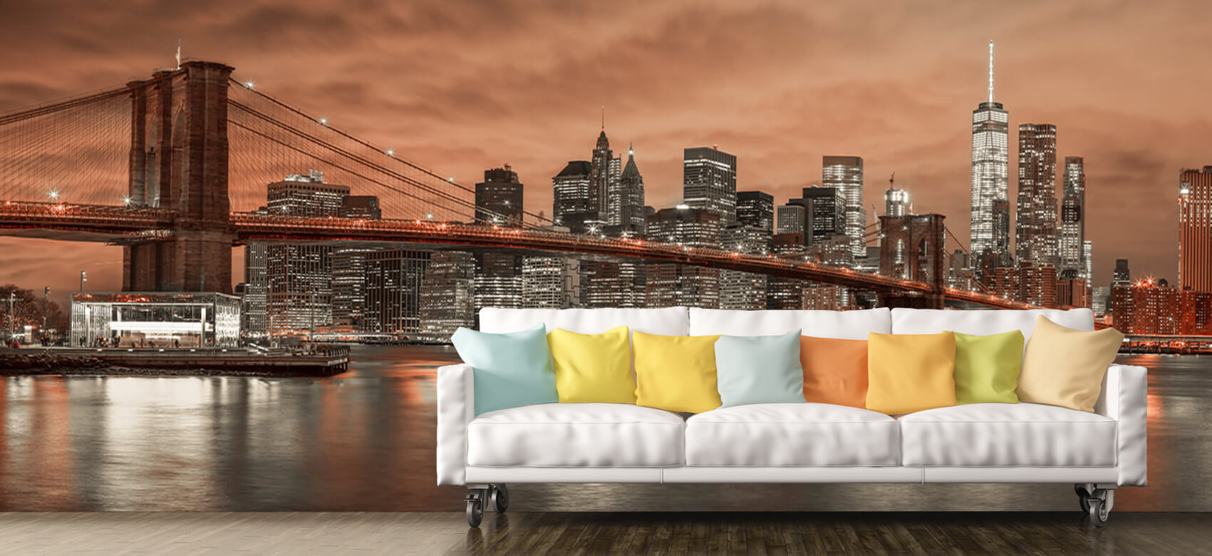 Brooklyn Bridge and Manhattan 6