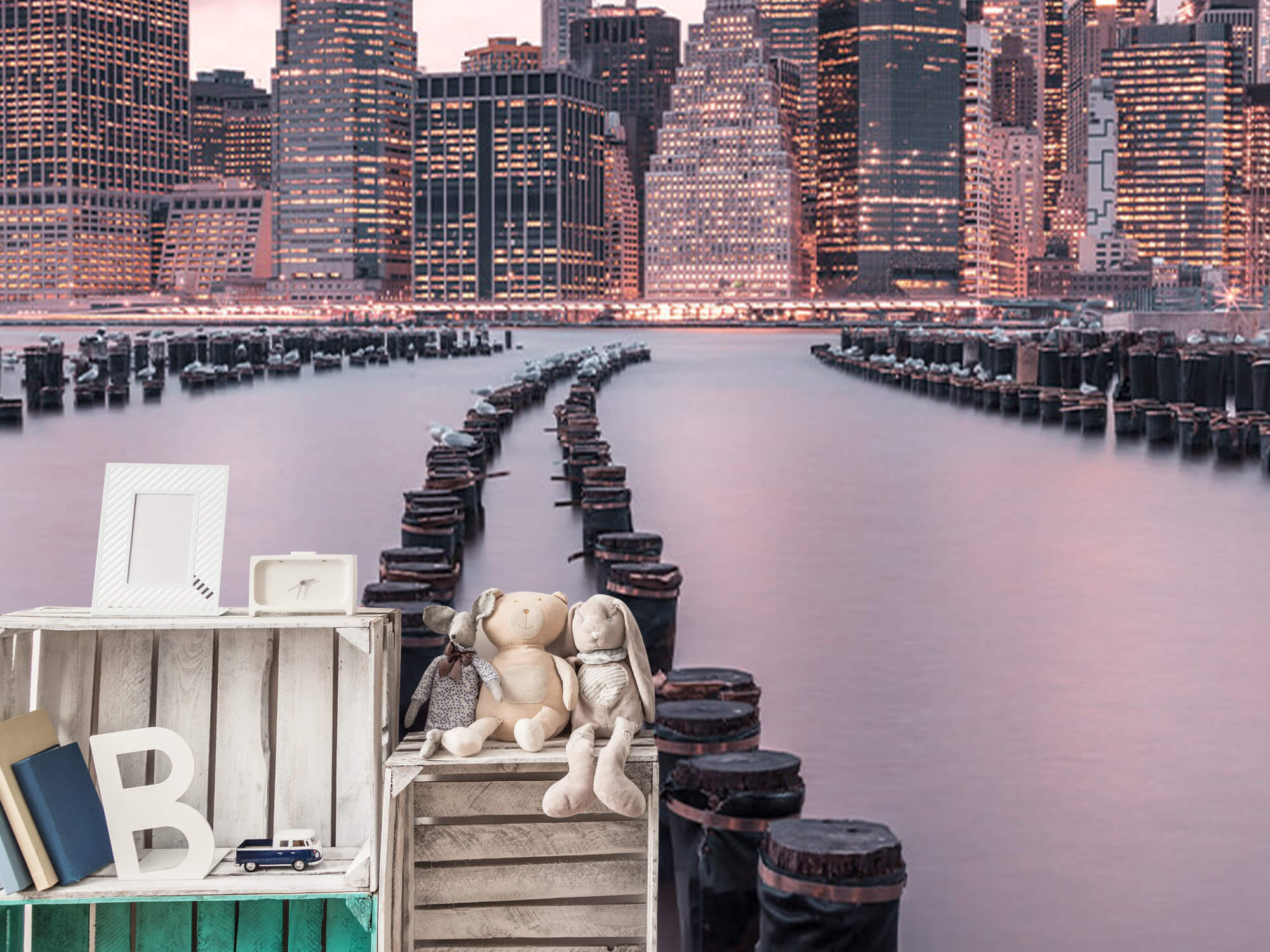 Breakwaters near Manhattan 9