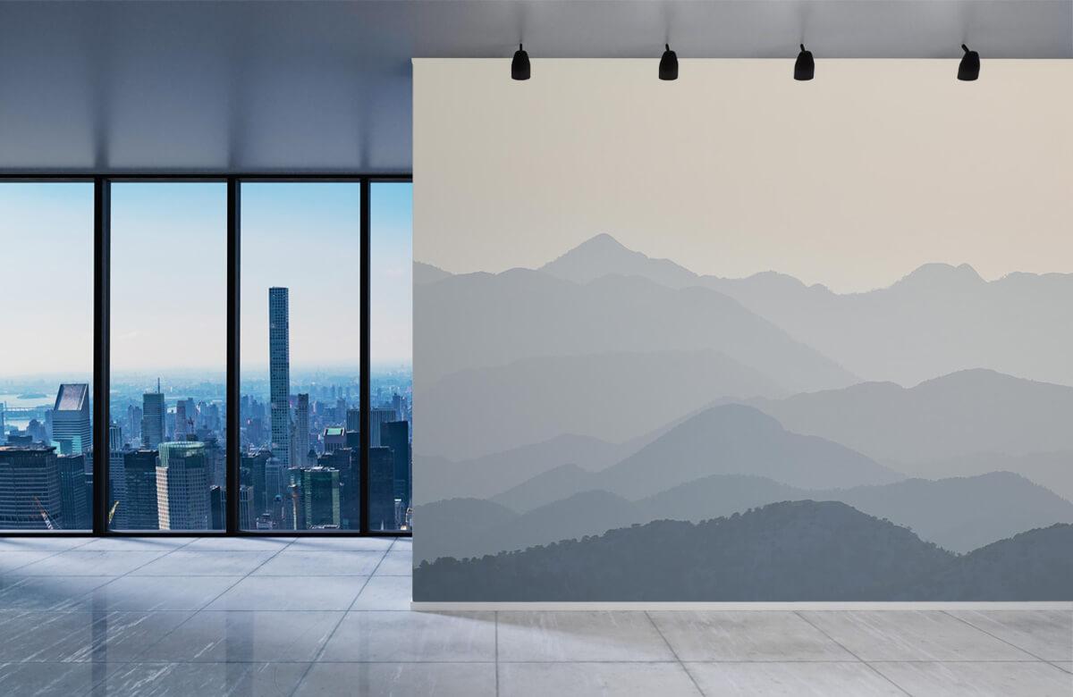 Mountain landscape in the jungle 1