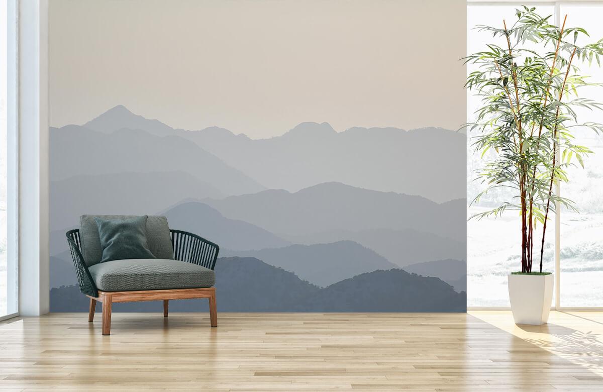 Mountain landscape in the jungle 3