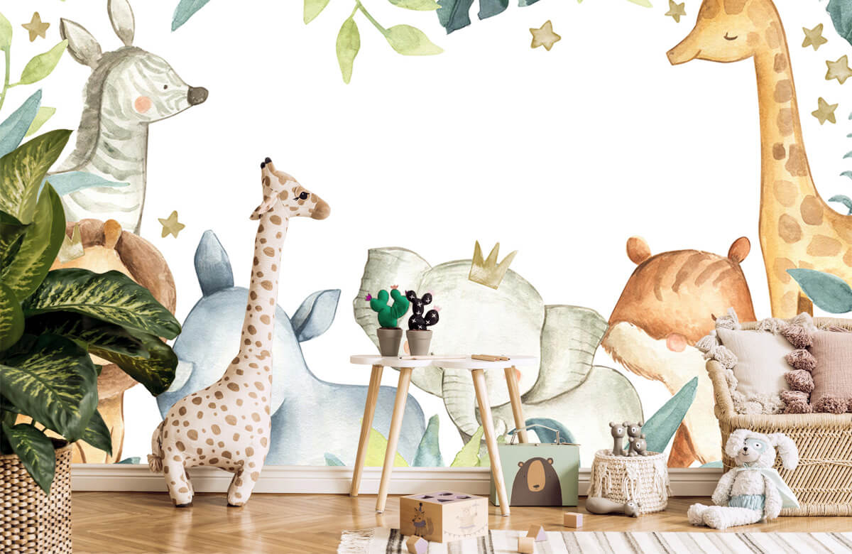 wallpaper Jungle animals mix 10