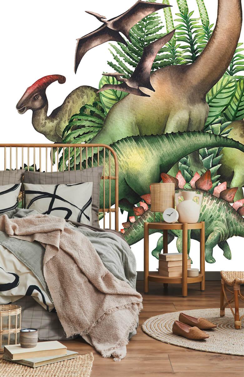 Watercolour dinosaurs 3