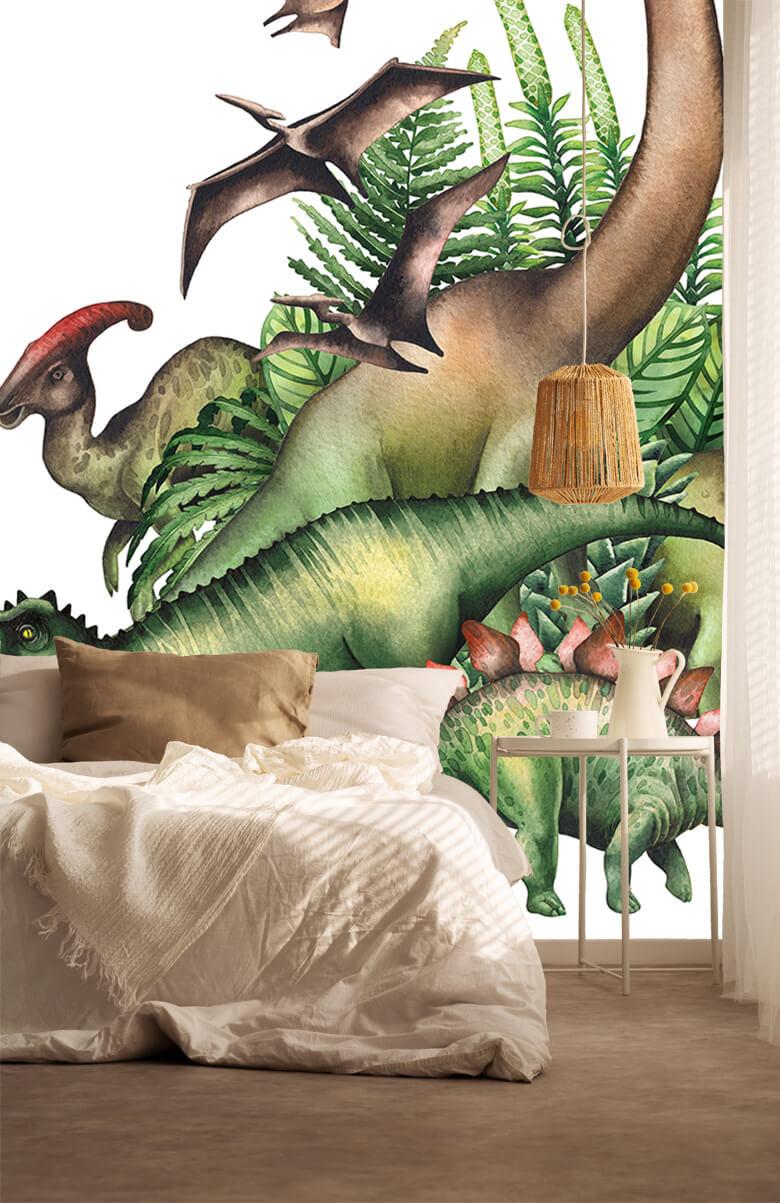Watercolour dinosaurs 6