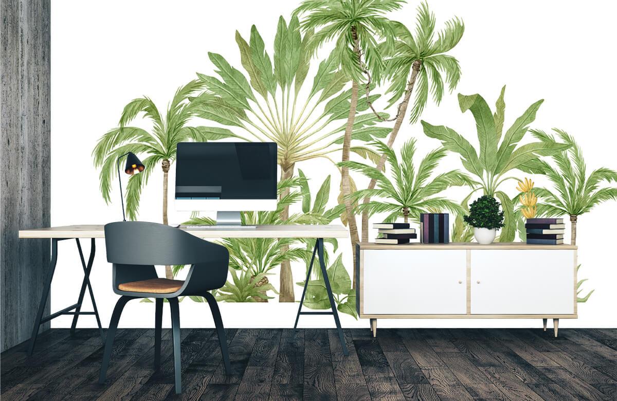Palm trees design 3