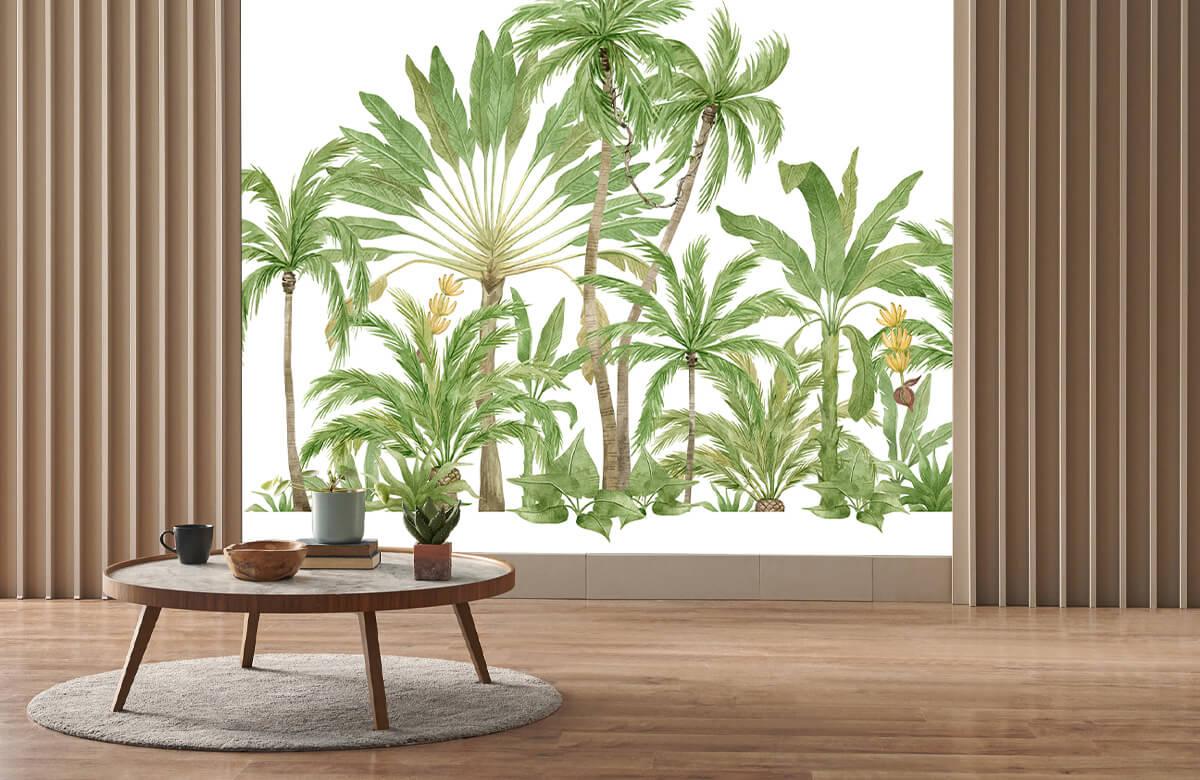 Palm trees design 4