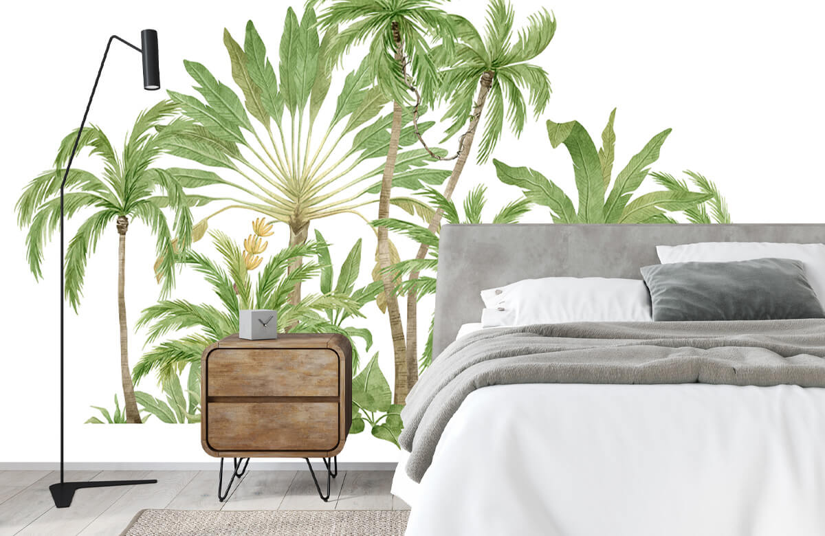 Palm trees design 5