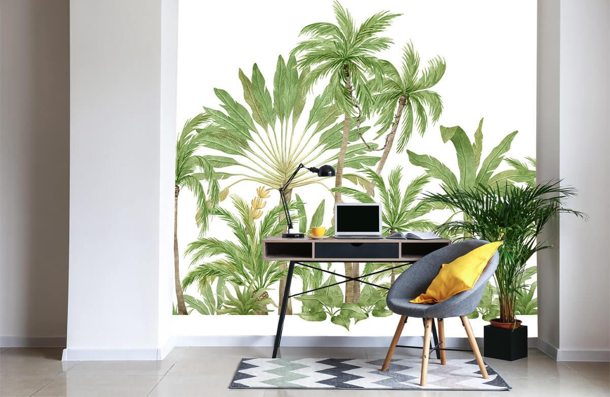 Palm trees design 6