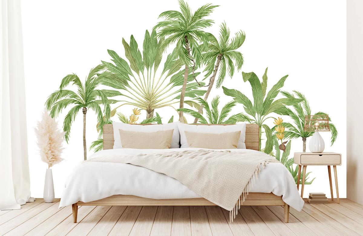 Palm trees design 1
