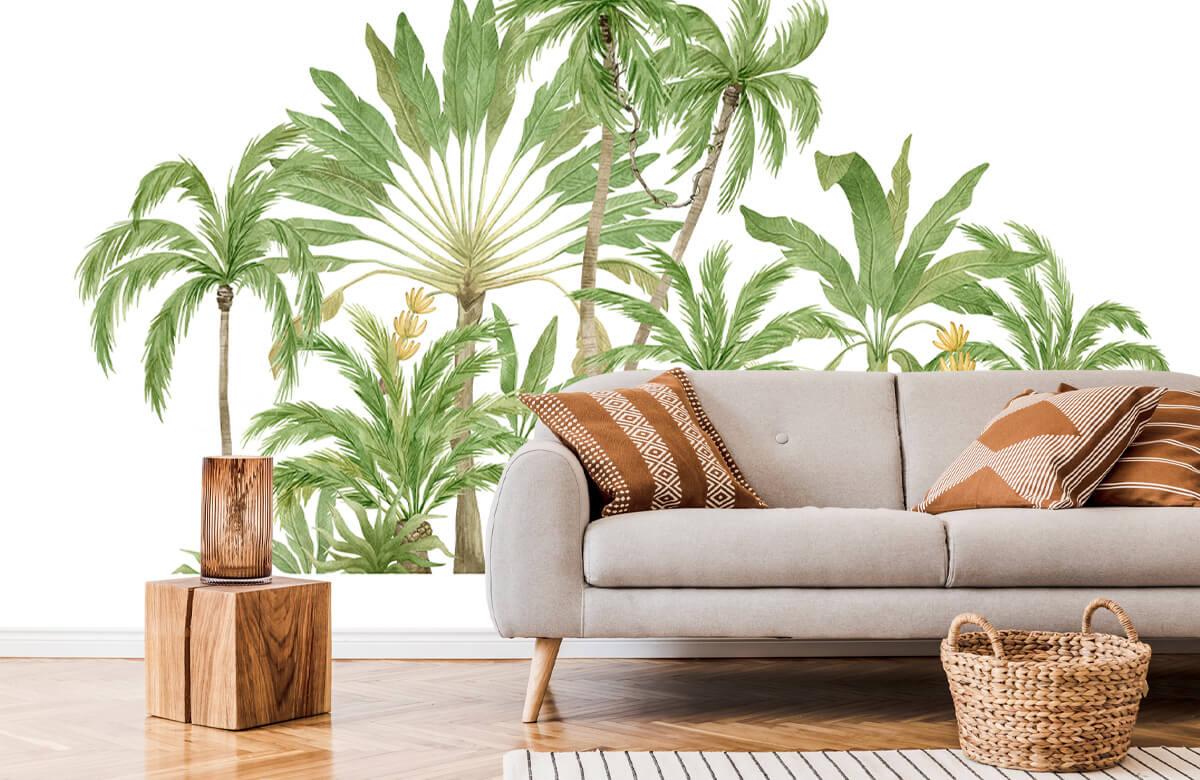 Palm trees design 7
