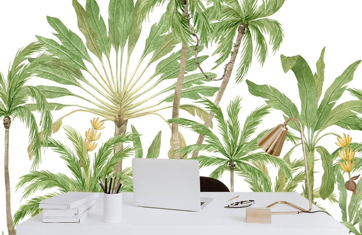 Palm trees design 8