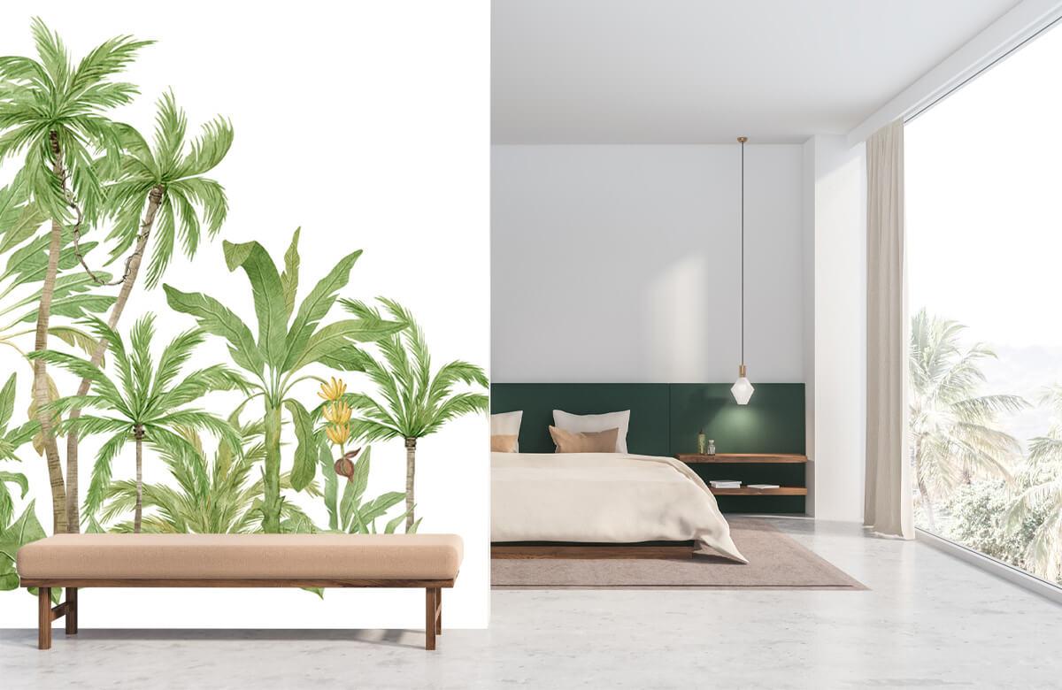 Palm trees design 9
