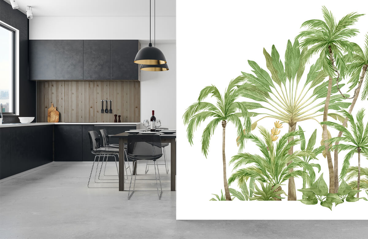 Palm trees design 2