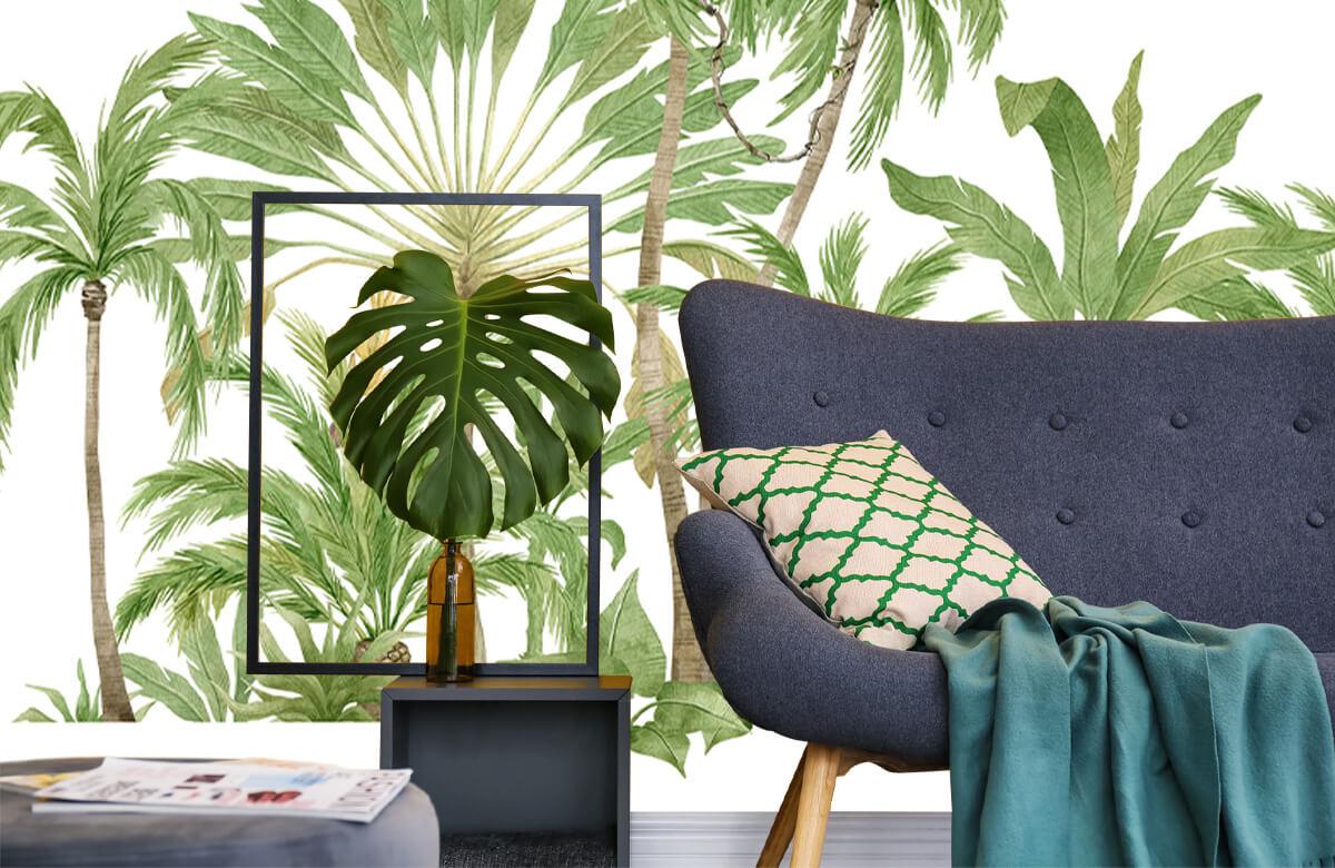 Palm trees design 10