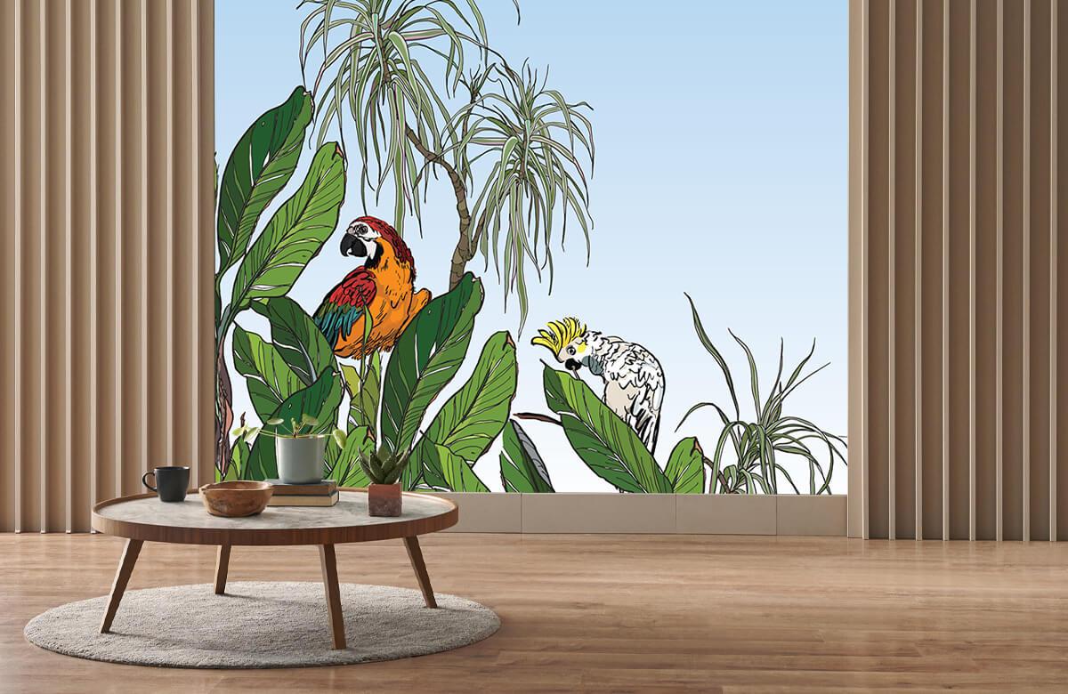 Birds in the jungle 4