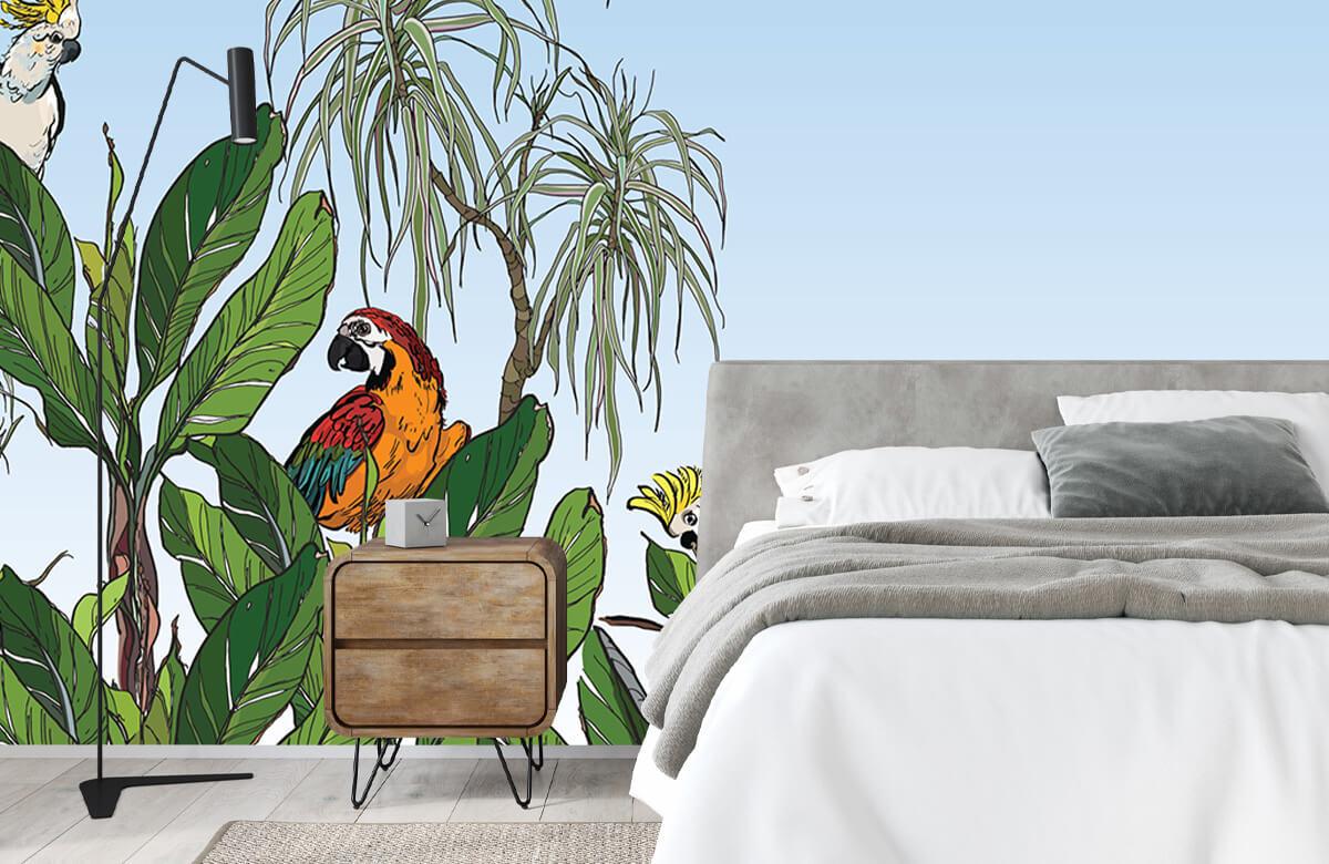 Birds in the jungle 2