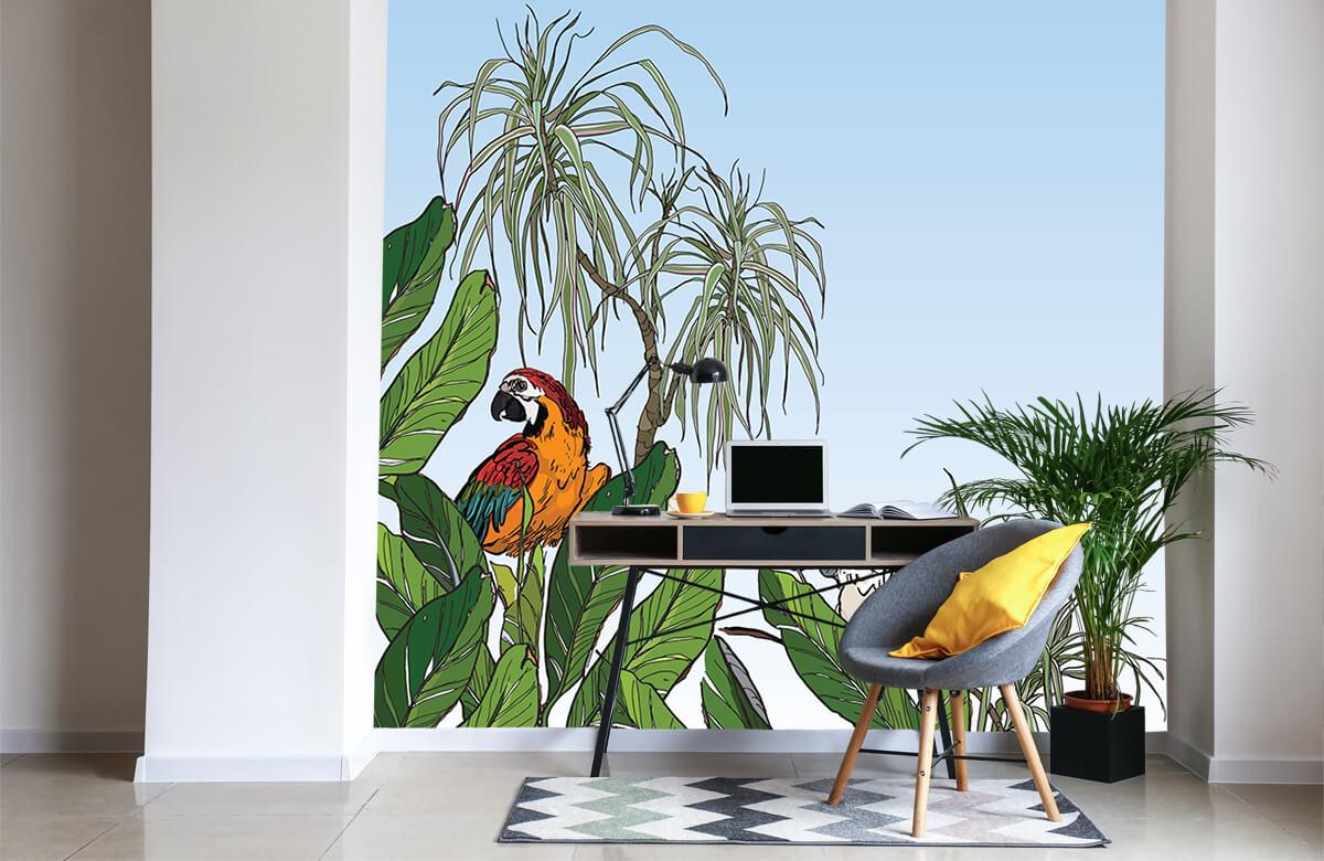 Birds in the jungle 5