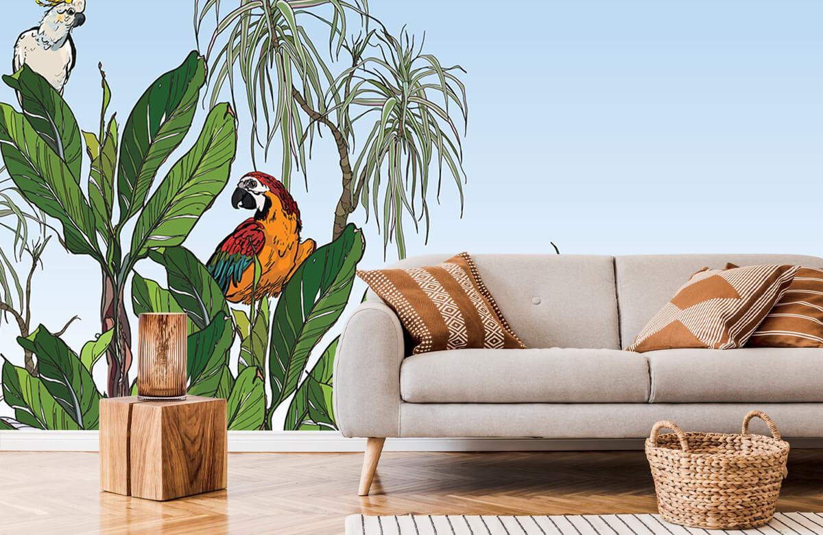 Birds in the jungle 7