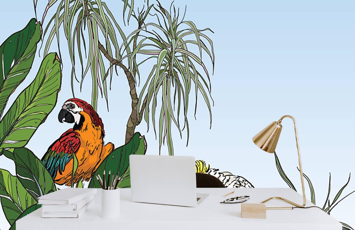 Birds in the jungle 8