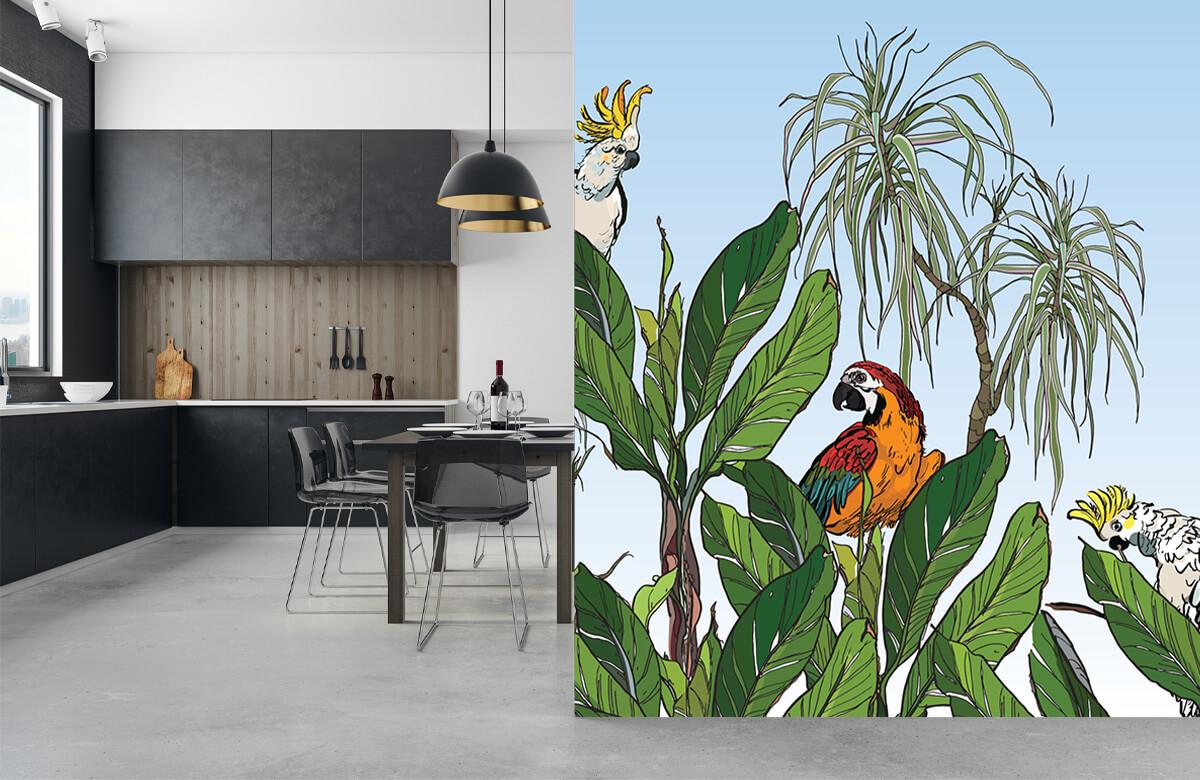 Birds in the jungle 10