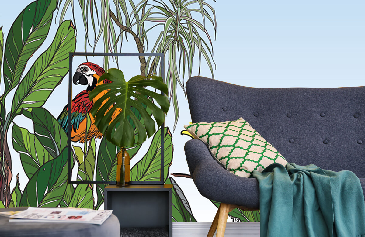 Birds in the jungle 1